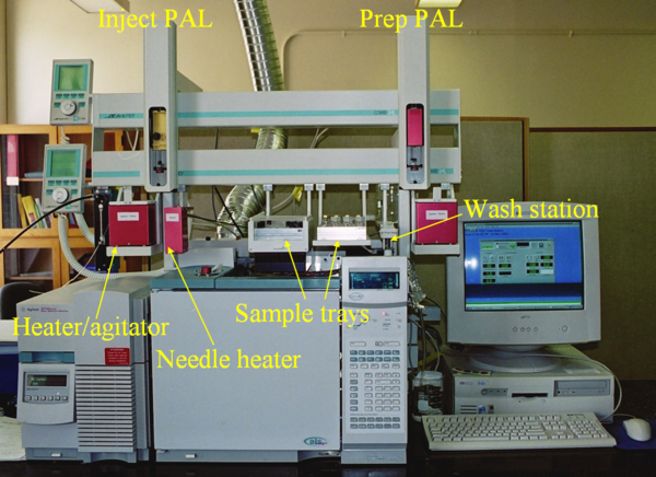 LEAP CTC Twin PAL Autosampler with Sample Prep and SPME (optional Headspace injections)